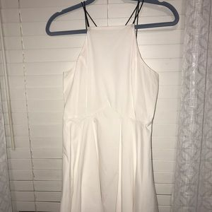 Short white dress from Charlotte Russe